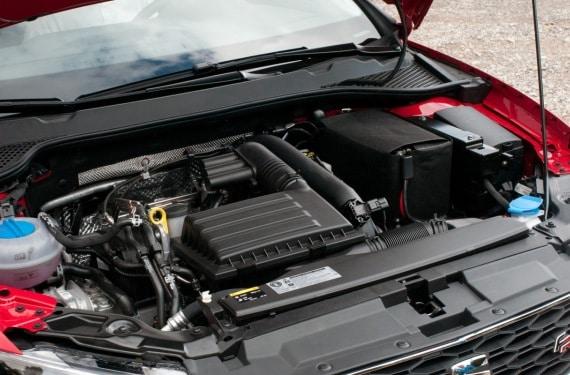 Motor del nuevo SEAT León