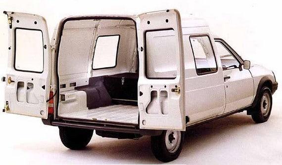 citro n c15 electrique se lo carga todo con electricidad. Black Bedroom Furniture Sets. Home Design Ideas