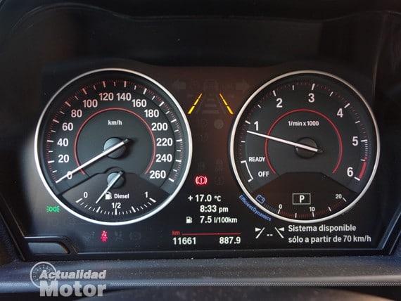 BMW Serie 1 cuadro de mandos