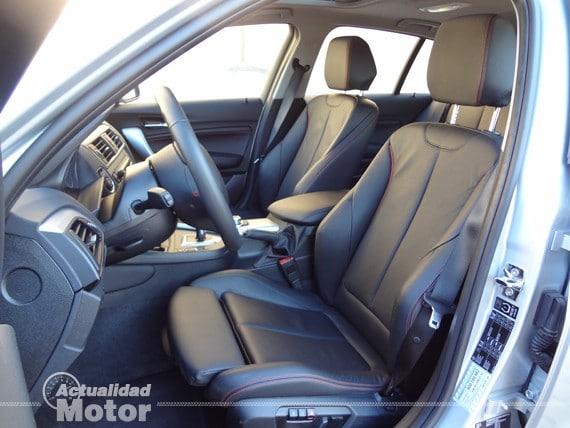 BMW Serie 1 asientos delanteros