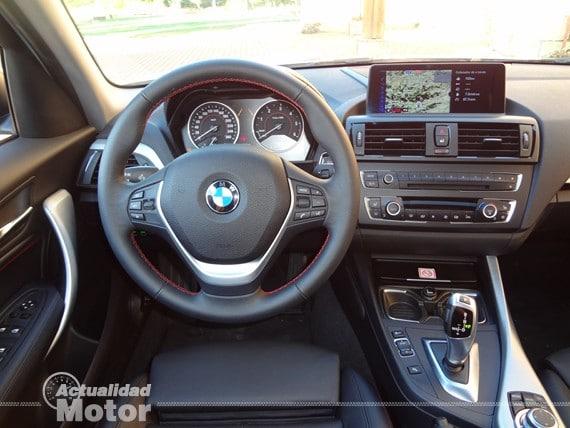 BMW Serie 1 salpicadero