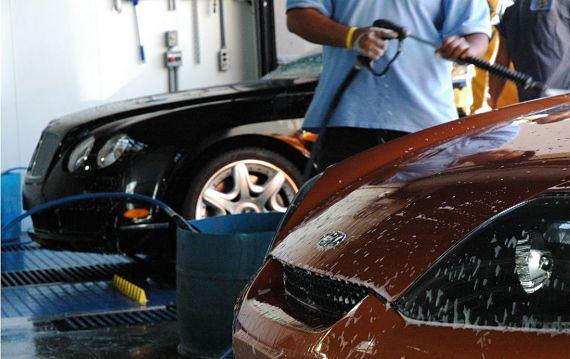 Lavar el coche