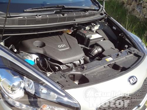 motor gasolina Kia Carens 2013