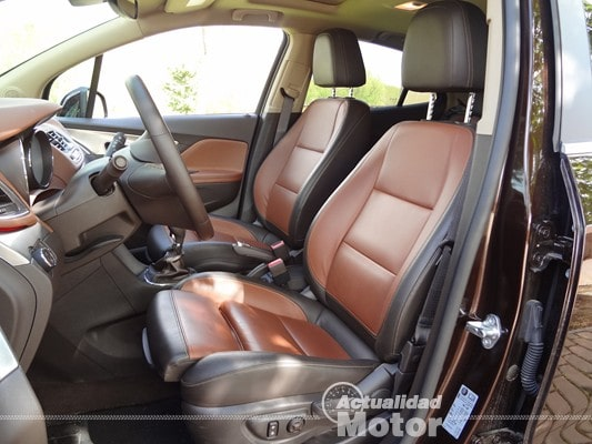 Opel Mokka asientos AGR