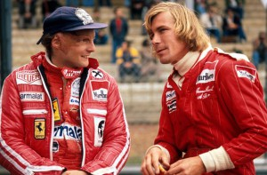 Niki Lauda y James Hunt