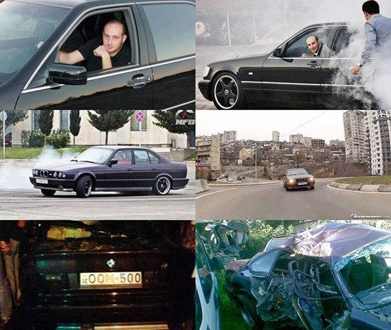 BMW M5 Death