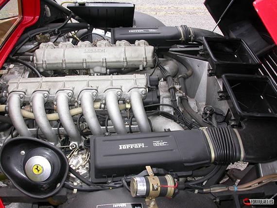 Motor-Ferrari-512BB