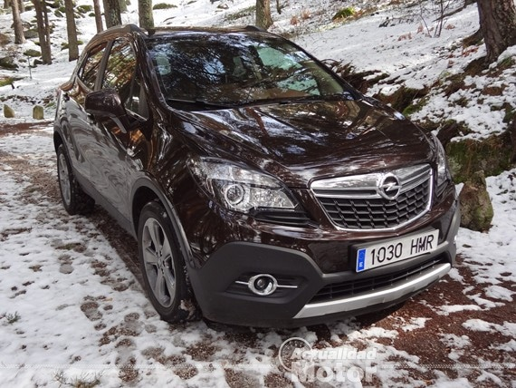 Opel Mokka fuera de carretera