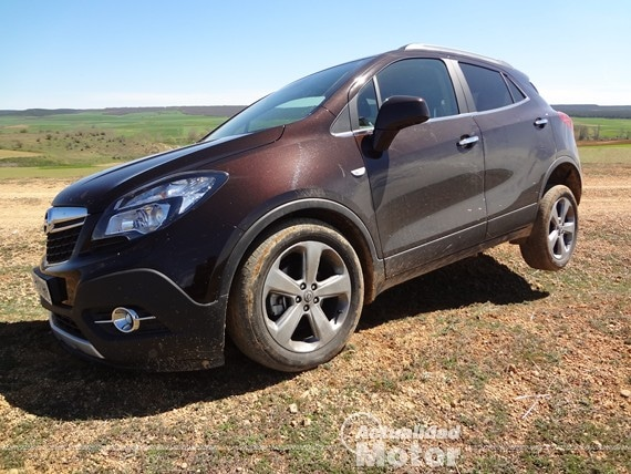 prueba todoterreno del opel mokka 4x4 con motor 1 4 turbo. Black Bedroom Furniture Sets. Home Design Ideas