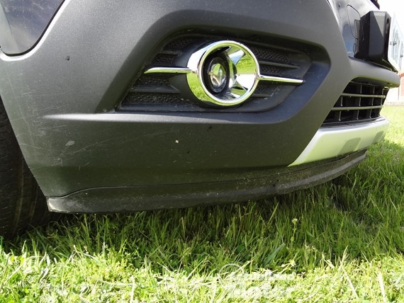 Opel Mokka parachoques