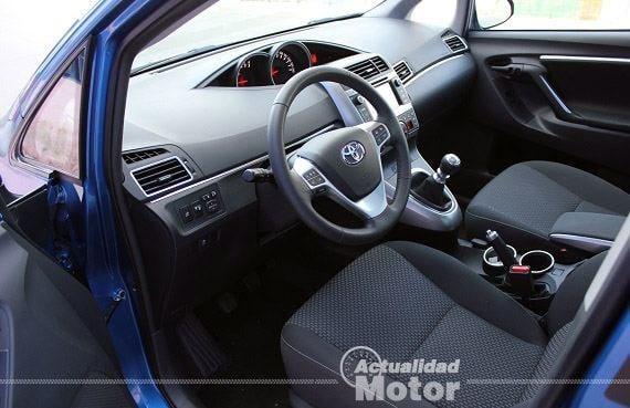 Prueba Toyota Verso 130 Advance