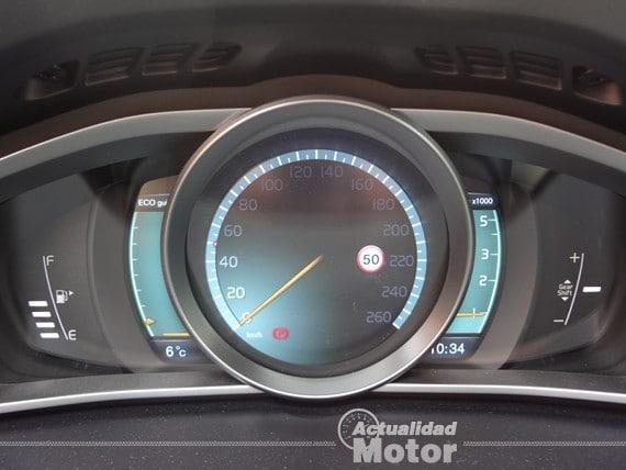 Volvo V40 pantalla digital