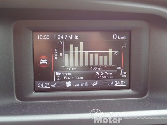 Volvo V40 D2 consumos