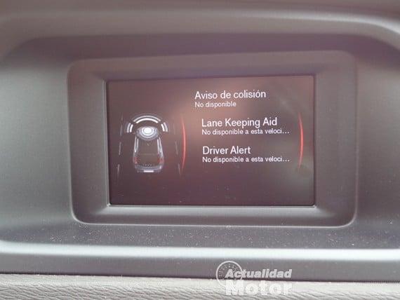 Volvo V40 D2 asistente de conducción