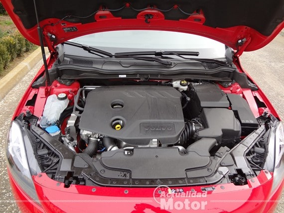 Volvo V40 motor D2