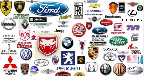 Logotipo marcas de coches