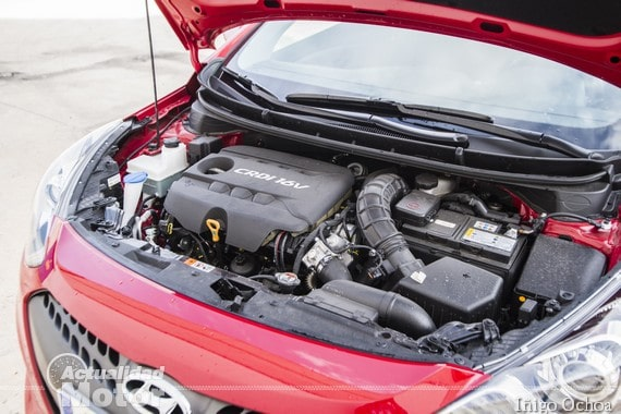 Motor 1.6 CRDI de 110CV en el Hyundai i30