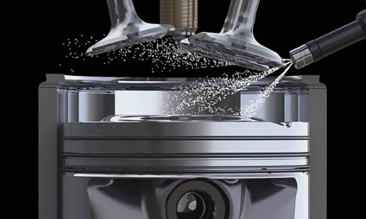 La inyección directa introduce el combustible en la cámara de combustión