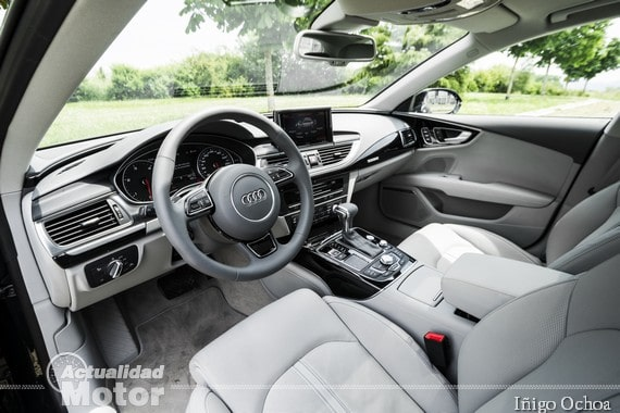 Prueba Audi A7 Sportback interior