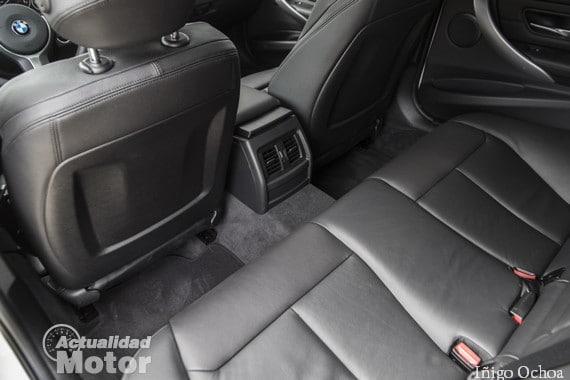Plazas traseras del BMW 320d Touring