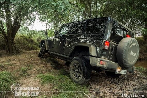 Prueba Jeep Wrangler Unlimited MOAB