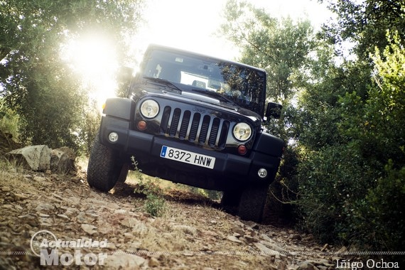 Jeep Wrangler descenso