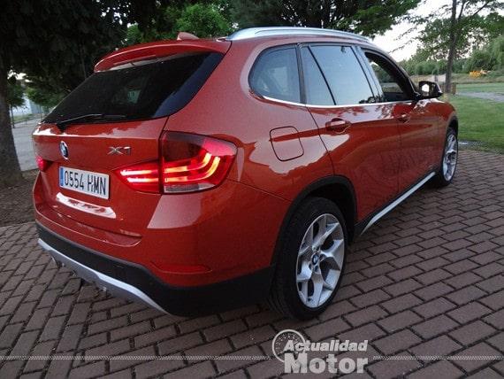 BMW X1 2.0i S-Drive vista trasera