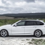 Vista lateral BMW 320d Pack M
