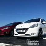 Comparativa Peugeot 208 HDI 92 vs. Ford Fiesta TDCI 95