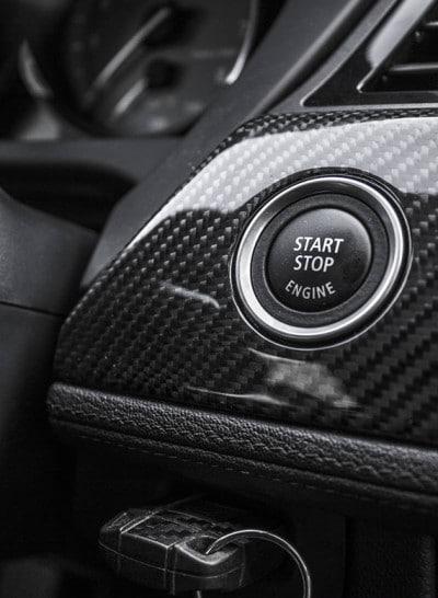 BMW Z4 Mineral White - stop start