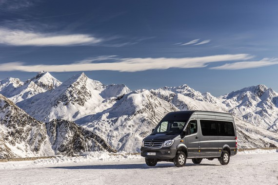 Sprinter 316 Bluetec 4X4 Kombi