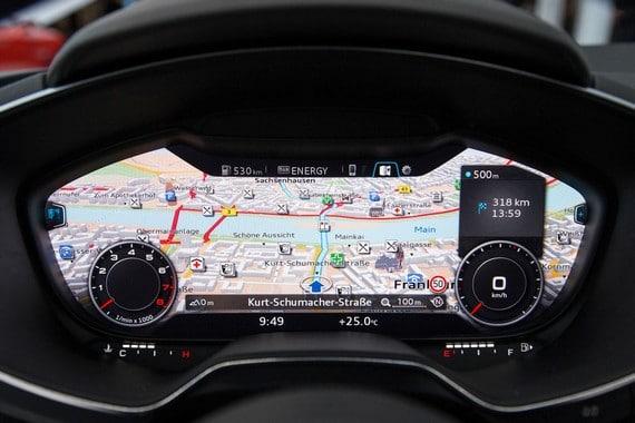 Interior Audi TT 2014