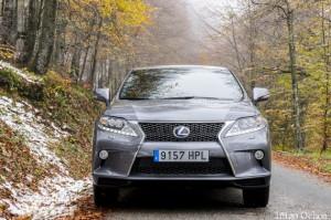 Prueba Lexus RX 450h F Sport