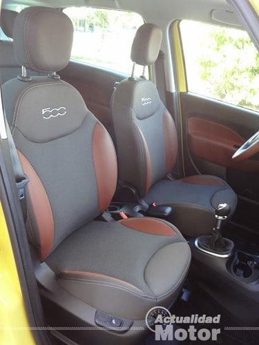 Fiat 500L Trekking asientos
