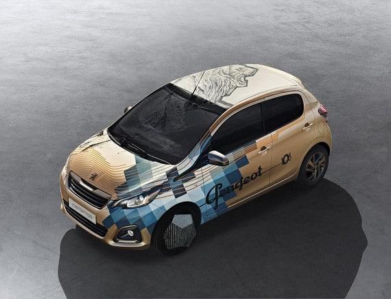 Peugeot 108 Tattoo
