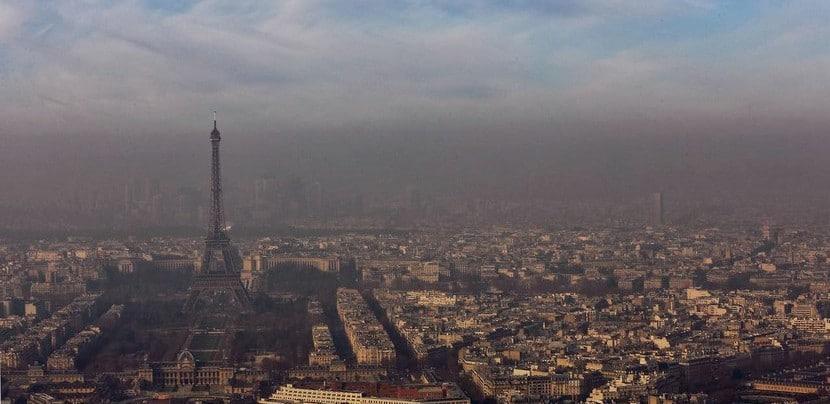 Resctricción circulación vehículos en París