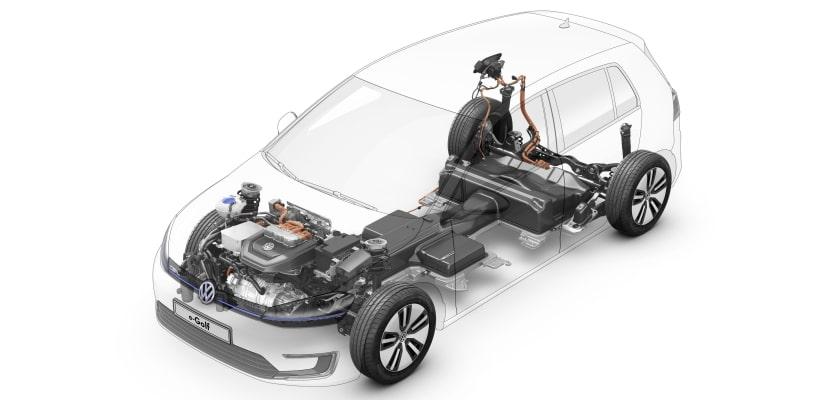 VW E-Golf 4