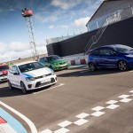 Comparativa utilitarios GTI Fiesta ST, Countryman JCW, Fabia RS, Polo R WRC