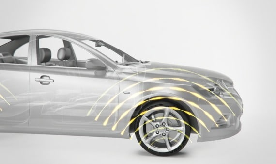Dunlop presenta su tecnología chip in tire en el Salón de Ginebra.