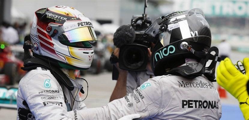 Lewis Hamilton, Mercedes, GP Malasia 2014