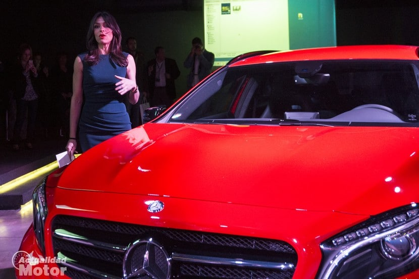 Presentación Mercedes GLA diseño
