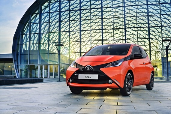 Nuevo Toyota Aygo Ginebra 2014