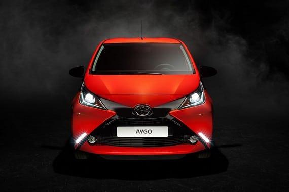 Nuevo Toyota Aygo Ginebra Frontal