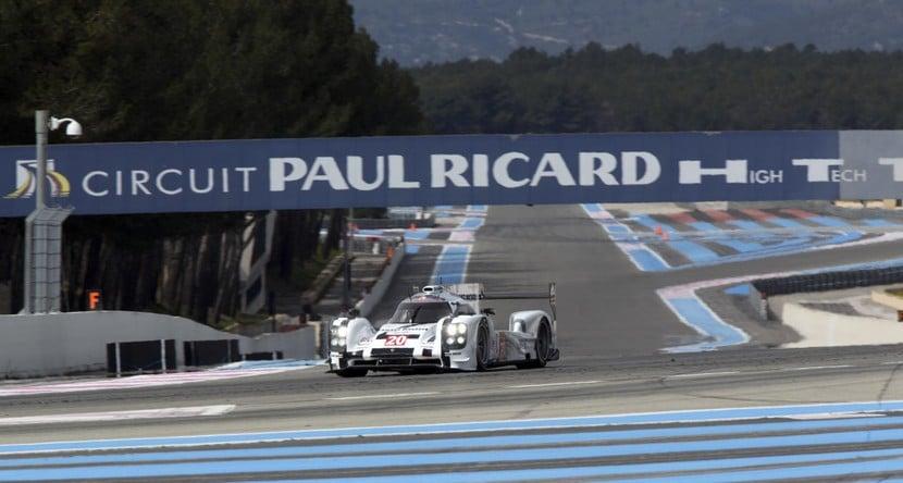 Último test exclusivo del Porsche 919 Hybrid LMP1 en Paul Ricard.