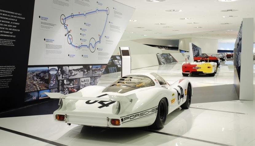 Vista interior del Museo Porsche 2