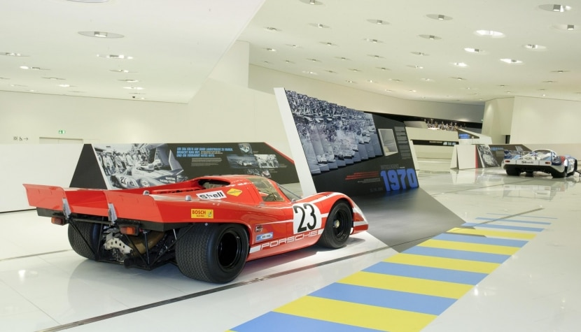 Vista interior del Museo Porsche 3