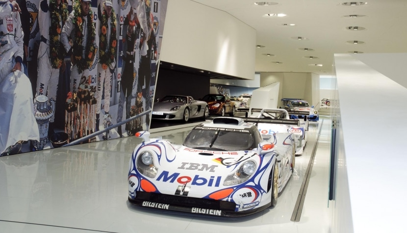Vista interior del Museo Porsche 4