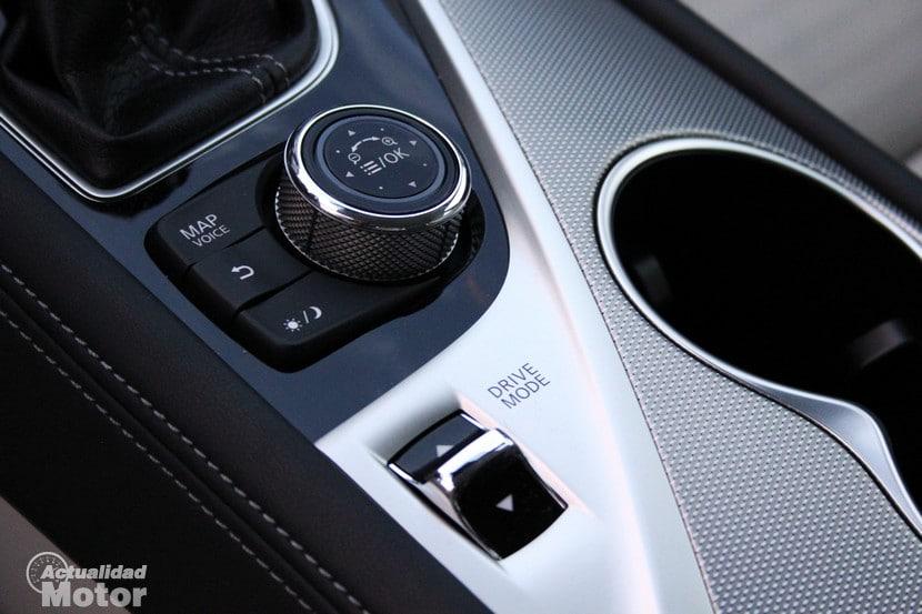 Prueba Infiniti Q50 diesel consumo