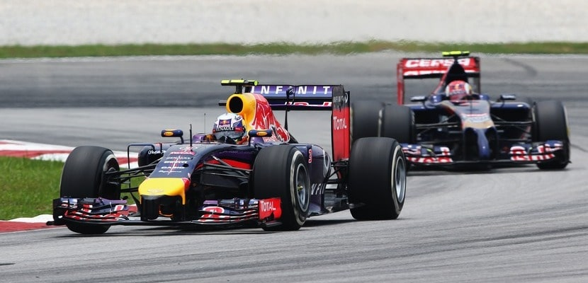 Daniel Ricciardo, Red Bull, GP Malasia 2014