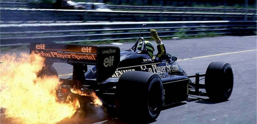 Ayrton Senna, John Player Special Lotus
